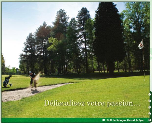 golf de sologne